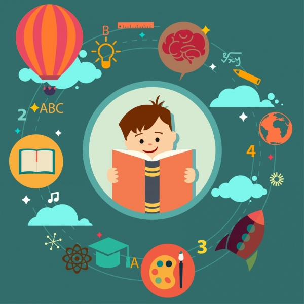 education_inforgraphic_circle_layout_colored_cartoon_kid_icon_6832120