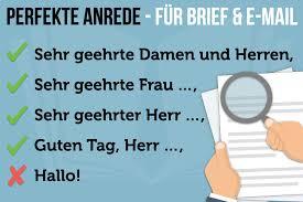 Levélírás németül - panaszlevél megszólítás