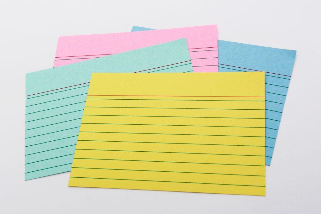 Német tanulókártyák, szókártyák